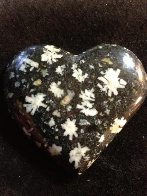 Texada Is. Flower Rock sculpted heart
